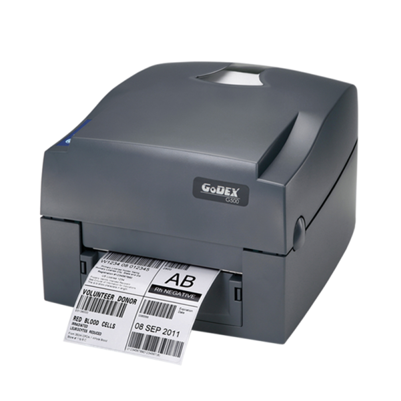 "Godex G530 4"" Thermal Transfer Barcode Label Machine, 300 dpi, 5 ips"
