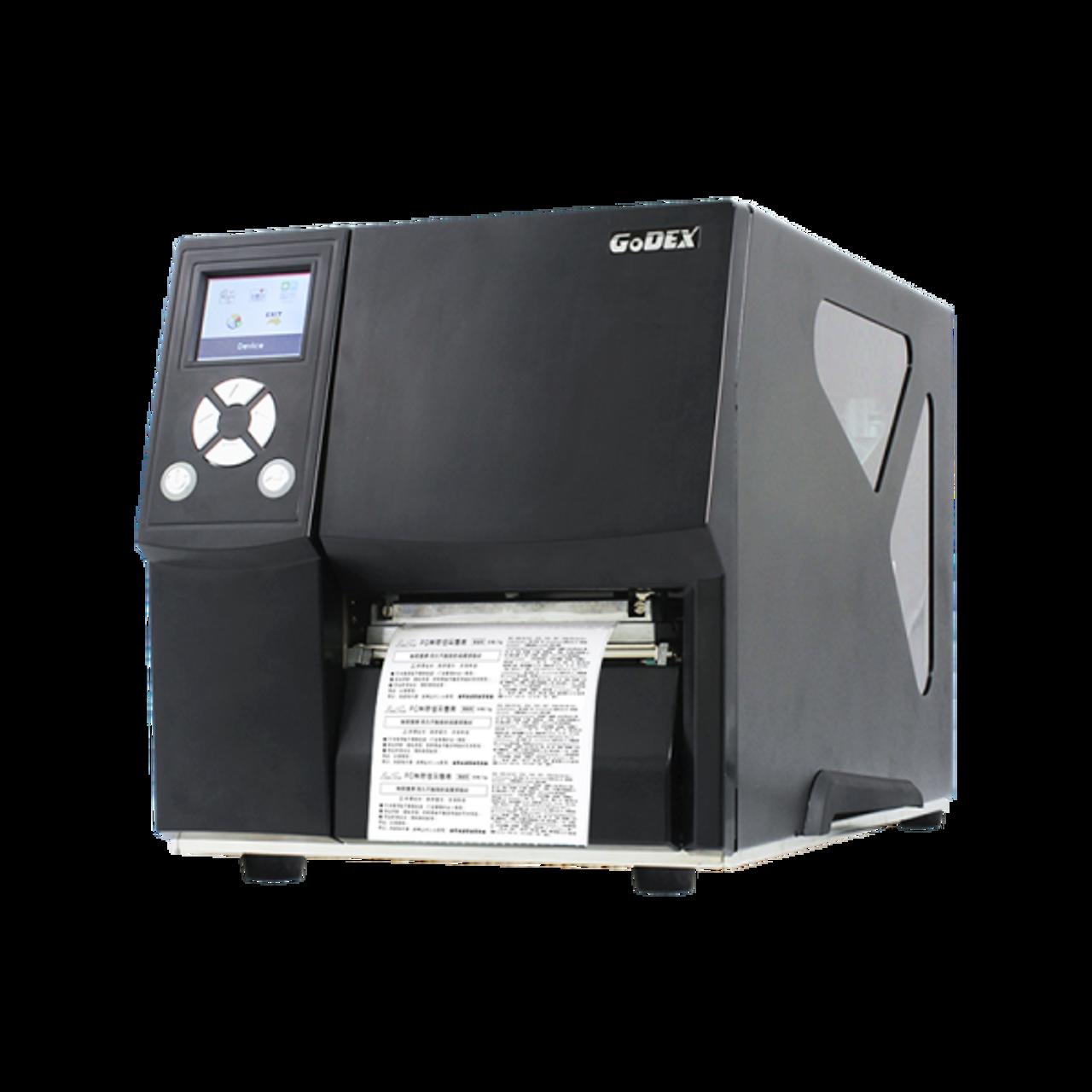 "Godex ZX430i 4"" Thermal Transfer Barcode Label Machine, 300 dpi, 4 ips"