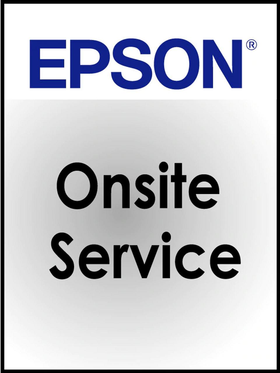 Epson TM-C7500/TM-C7500G One Year Onsite Warranty Upgrade/Year (OSTME-I)