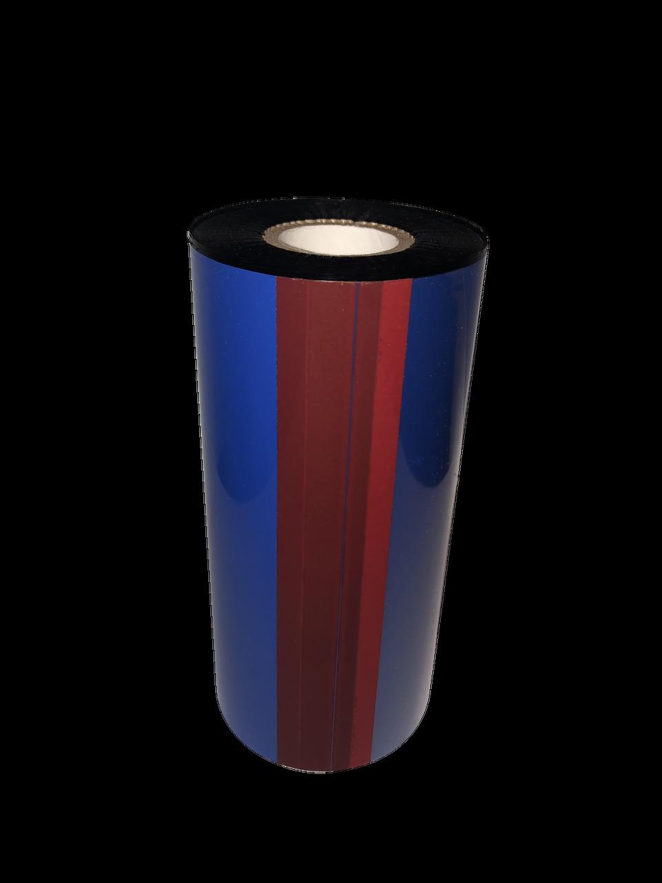 "Microplex Printer 8.66""x1476 ft R510C Red (185) Durable Resin-12/Ctn thermal transfer ribbon"