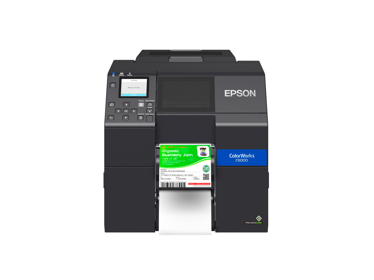 Epson ColorWorks C6000P 4 inch color label printer - Peeler