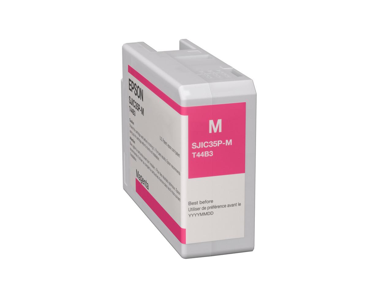 Epson SJIC35P(M) for ColorWorks C6000/C6500 Ink Cartridge - Magenta (C13T44B320)