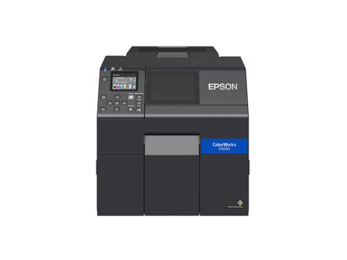 """Epson ColorWorks C6000A Matte 4"""" Color Label Printer-Autocutter C31CH76A9981"""
