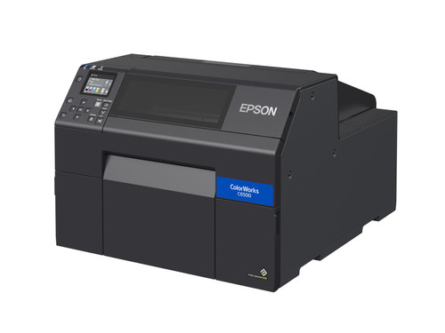 """Epson ColorWorks C6500A Gloss 8"""" Color Label Printer-Autocutter C31CH77A9991"""