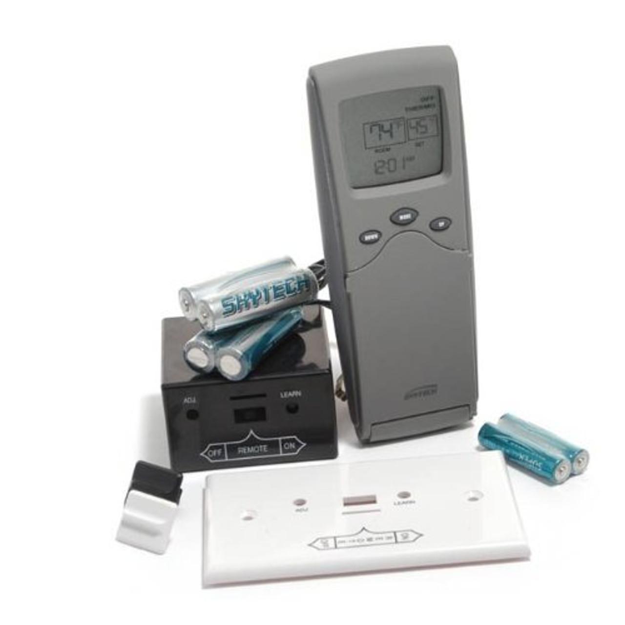 Skytech 3301 Thermostat Fireplace Remote