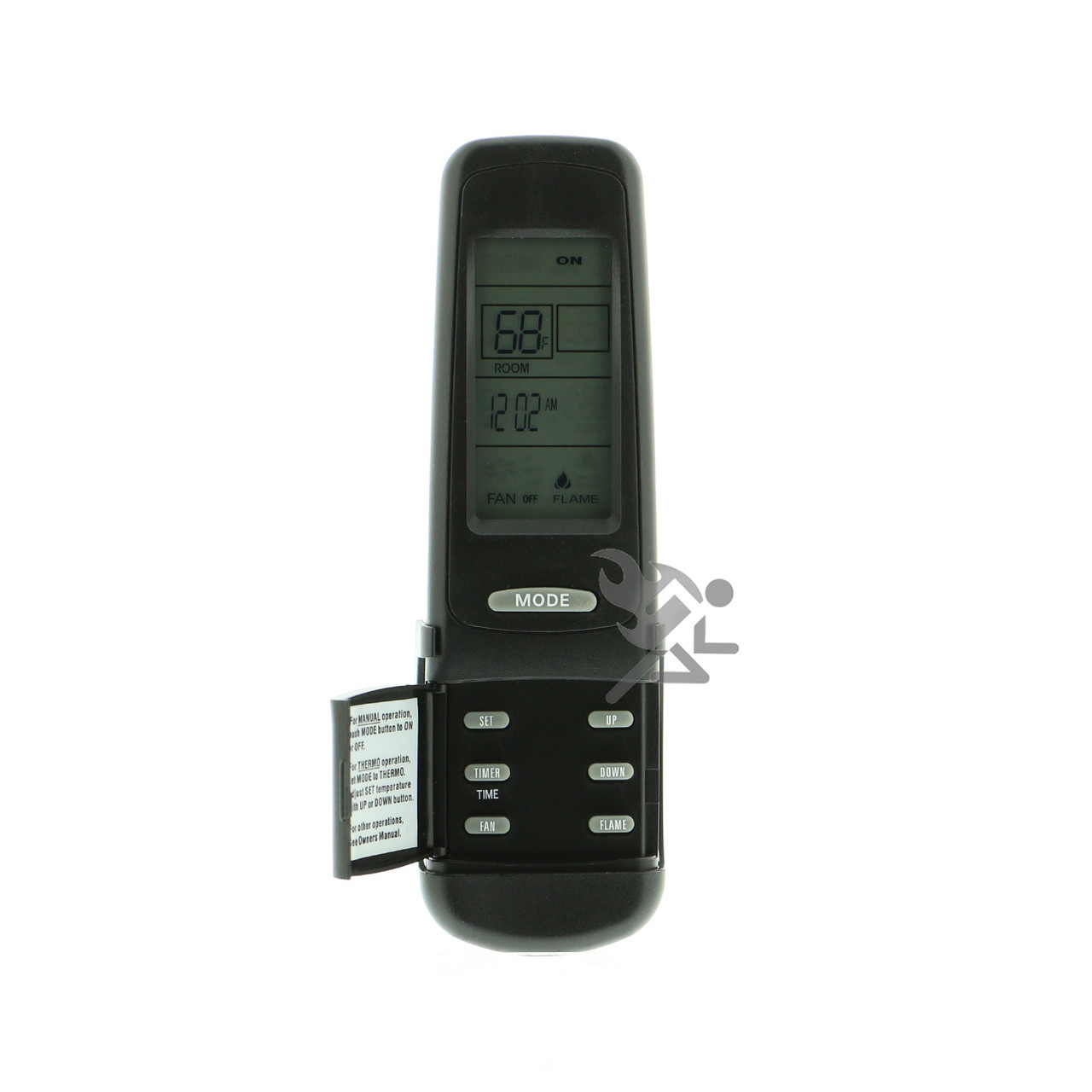 Skytech MRCK-TH Thermostat /& Flame Adjustment Fireplace Remote Control