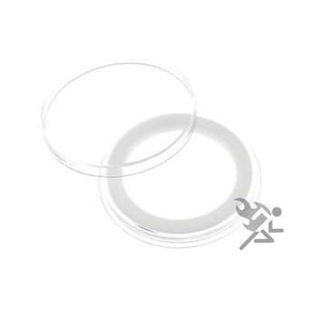 250 AIRTITE COIN HOLDER CAPSULE BLACK RING 31 MM