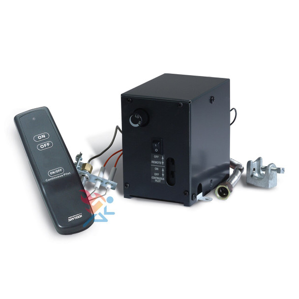 Skytech AFVK-SP Spark to Pilot Valve Kit Remote Control Vented Gas Log Fireplace