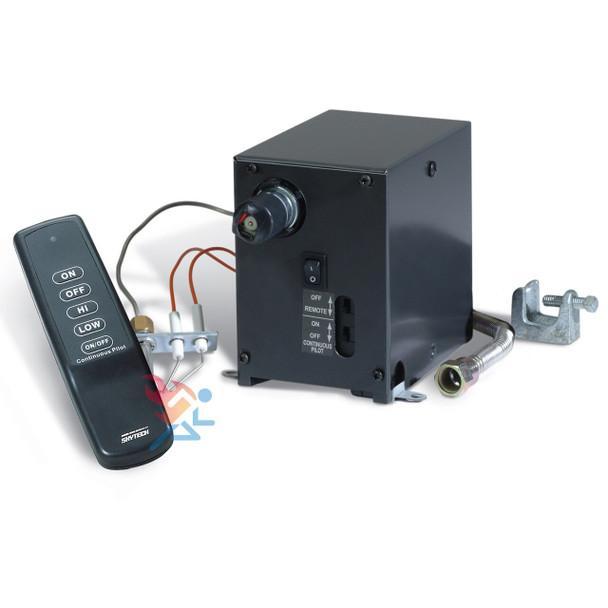 Skytech AFVK-SP-MH/L Spark Pilot Hi/Lo Valve Kit Remote Control Vented Gas Logs