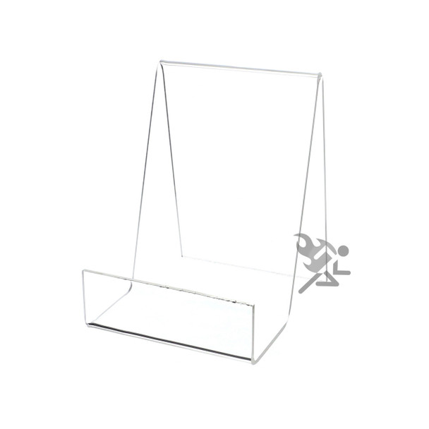 """5.5"""" Book Display Stand Easel with 2"""" Resting Shelf"""