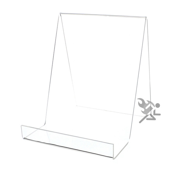 """7.25"""" Book Display Stand Easel with 2-1/2"""" Resting Shelf"""