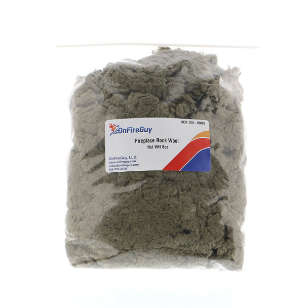 OnFireGuy Fireplace Rock Wool, 8oz Bag