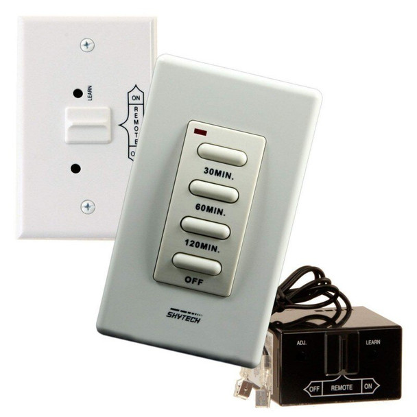 Skytech TM/R-2A Wireless Wall Mounted Timer Fireplace Remote Control