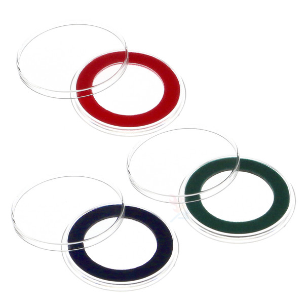 Air-Tite 32.7mm Velour Ring Coin Capsules for 1oz Gold Eagles