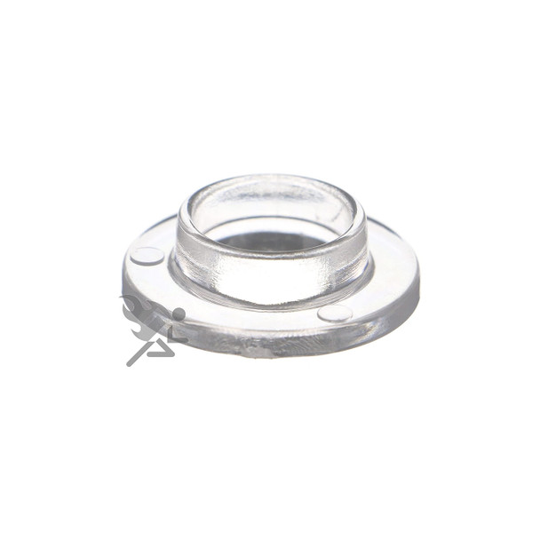 Medium Acrylic Wide Base Round Ring Display Stand Holder for Golf Balls & Marbles