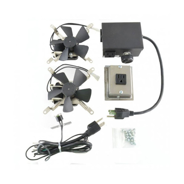 RFK3002 Heat Activated Fireplace Fan Blower Kit Compatible with Montigo  Fireplaces