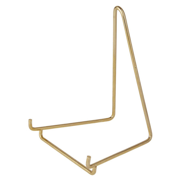 Bard's Gold Toned Wire Display Stand Easel, 6 inch High