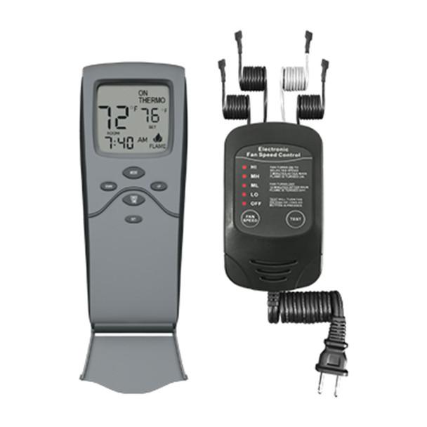 Skytech 3301-FSCRF Timer/Thermostat Fireplace & Electronic Fan Speed Remote Control