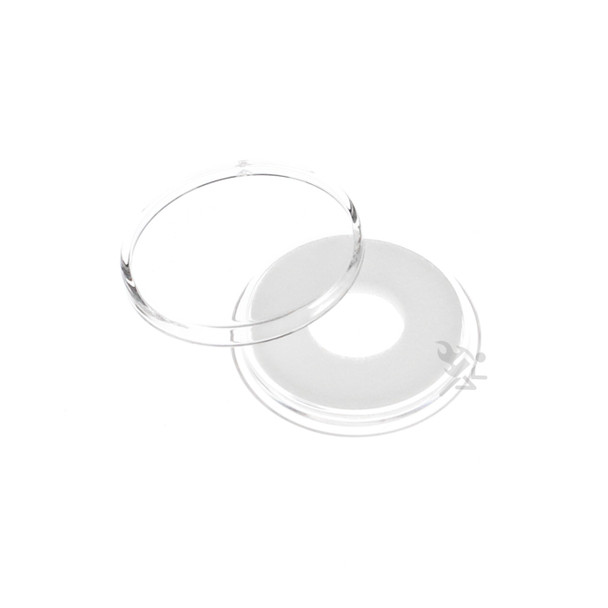 3 AirTite BLACK Ring Coin Capsules For Small 11mm Coins Crystal Clear Storage