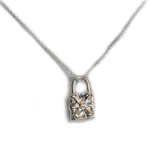 925 Sterling Silver Purse Pendant necklace, Free 18 Inch Chain
