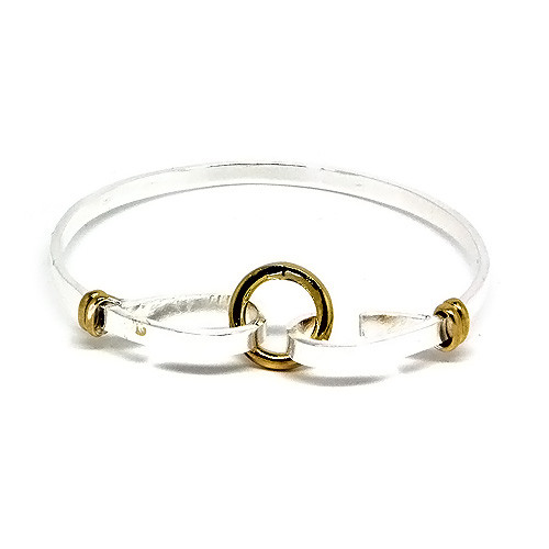 925 Sterling Silver Circle of Trust Bangle