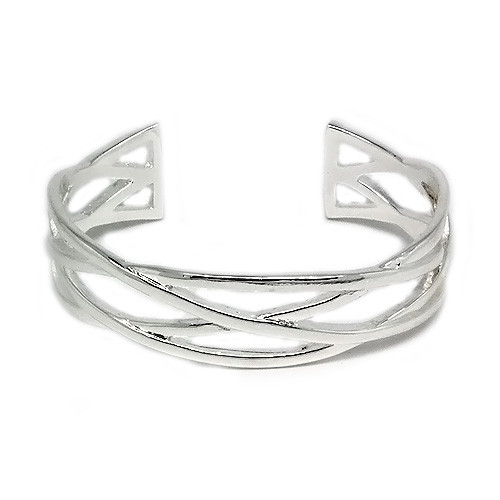 925 Sterling Silver Celtic Knot Bangle