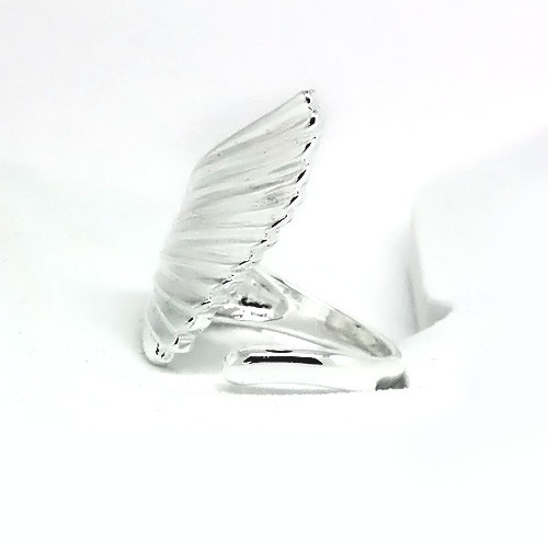 Winged 925 Sterling Silver Adjustable Thumb Ring