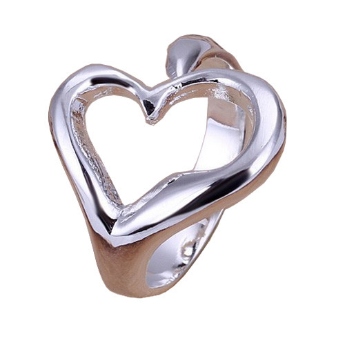 Heart 925 Sterling Silver Adjustable Thumb Ring