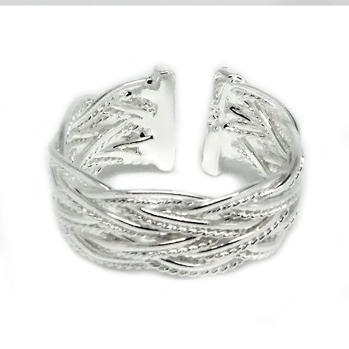 925 Sterling Silver Adjustable Celtic Knot Thumb Ring