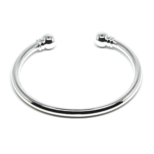 925 Sterling Silver Rounded Cuff