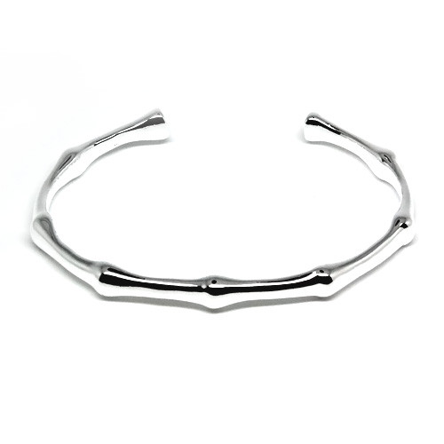 925 Sterling Silver Bamboo Cuff