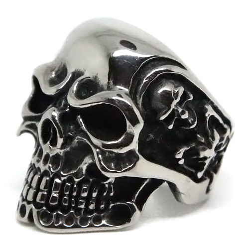 Crypt-Keeper Skull Stainless Steel Ring