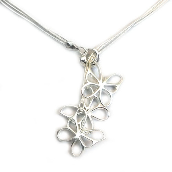925 Sterling Silver Butterfly Pendant necklace, Free 18 Inch Chain!
