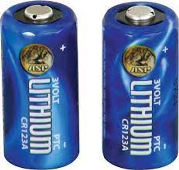 CR123A Lithium Batteries (2)