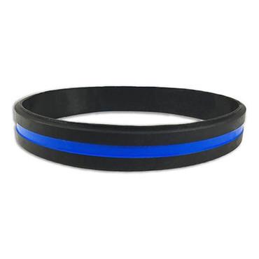Blue Line Wrist Band