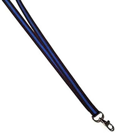 Blue Line Lanyard