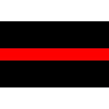 Red Line Sticker