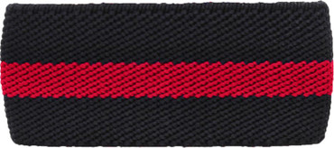 Red Line Mourning Band