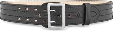 "Dutyman Black 2 1/4"" Sam Brown 4 Row Stitch Belt(4011)"