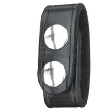 Gould & Goodrich Belt Keeper Plain Black (4 pack)