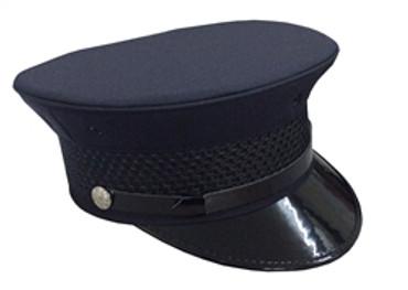 Navy Bell Top Hat