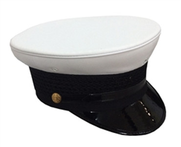 White Bell Top Hat