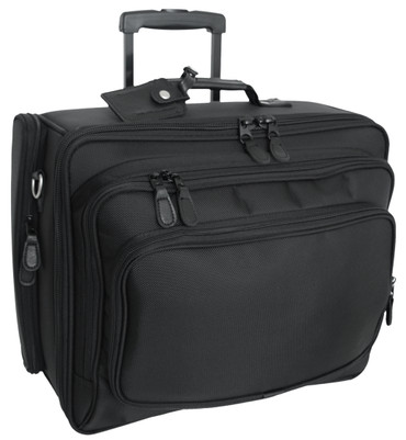 Computer Case with Wheel System