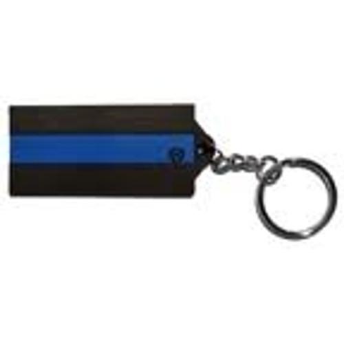 Blue Line Key Chain