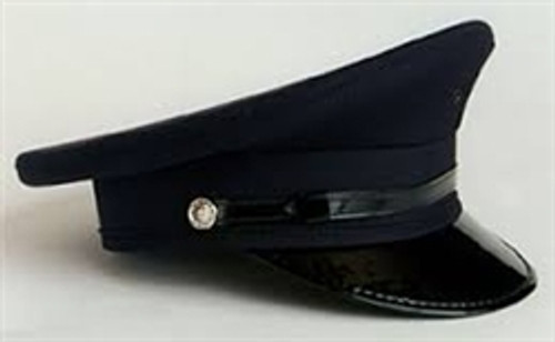 Navy Round Hat