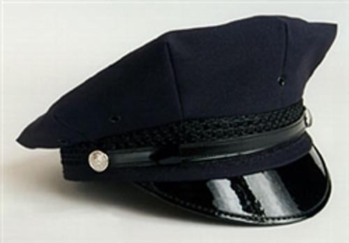 Navy 8 Point Hat