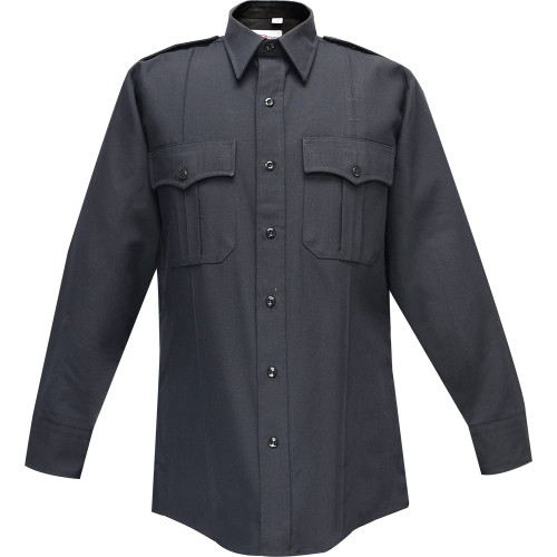 FLYING CROSS LS COMMAND POLYESTER SHIRT NAVY
