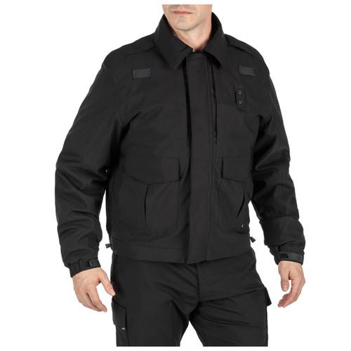 5.11 Tactical 4-in-1 Patrol Jacket 2.0 (Dark Navy, Black)