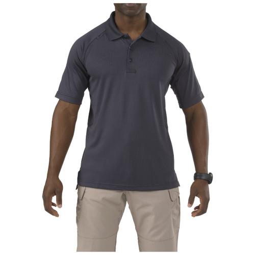 5.11 Tactical Performance Polo Shirt - Short Sleeve (Charcoal, Dark Navy, Range Red, TDU Green, White or Black)