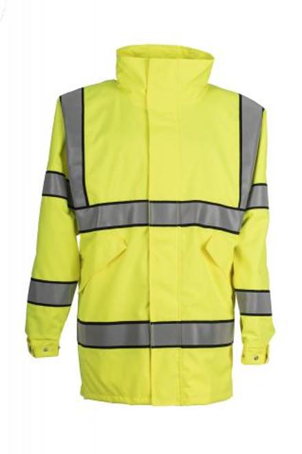 Spiewak ANSI VizGuard Mesh-Lined Raincoat